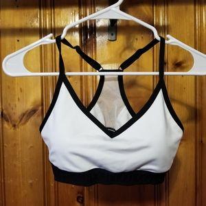 Pink size M sports bra